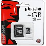 Cartão Memória Micro Sd 4gb Lacrado Promoção !!!