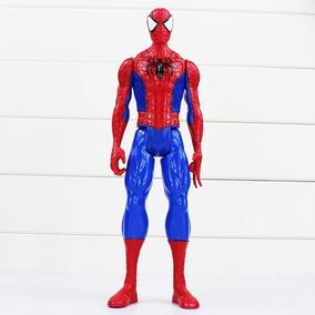 Boneco Brinquedo Vingadores Homem Aranha 30cm Articulado