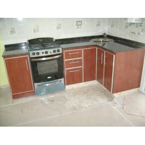 Mueble de cocina en melamina precio por metro lineal for Muebles de cocina x metro lineal
