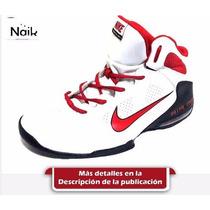 Nike Full Cout2 Blanco-rojo-negro T:43| Basquet| Hombre| Zap