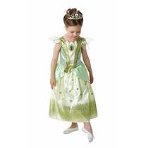Disfraz Princesa Tiana Talle Small 3-4 Años Original Disney