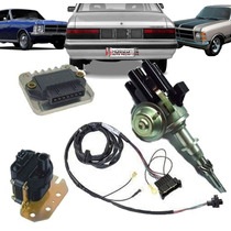 Kit Ignição Hall Distribuidor Opala Caravam Carburador 6cc