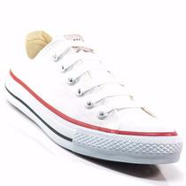 Tênis All Star Converse Tecido Original Branco Preto Lindo