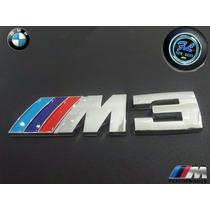 Emblema ///m3 Cajuela,salpicadero,bmw Series 1,2,3,4,5 X1,x5