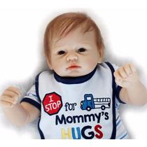 Oportunidade! Bebe Reborn Menino Boneca 55 Cm Sob Encomenda