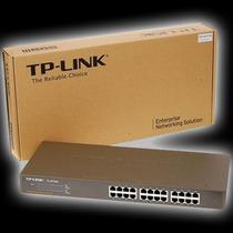 Switch 24p 10/100 Serve Em Rack 19 Tplink Tl-sf1024 Tp-link