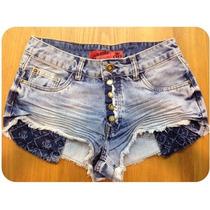 Shorts Jeans Bolso Aparecendo Revanche