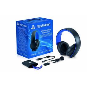 Headset Gold 7.1 Wireless Stereo Ps4 Ps3 Sony Sem Juros