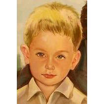 Retratos Por Encargo Al Óleo Niños