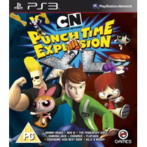 Cartoon Network Punch Time Xl Ps3 Que No Te Lo Ganen