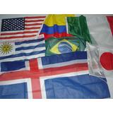 Banderas De Todos Los Paises 60x90cms - Directo De Fabrica