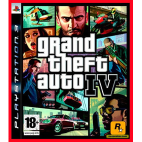 Gta 4 Grand Theft Auto 4 Ps3 - Jogos Codigo Psn Digital