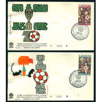 Mexico 1970 Sobres Clausura Del Mundial De Futbol Mexico 70