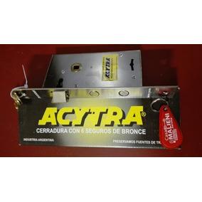 Cerradura Acytra 101+ 4 Llaves+ Kit Instalación + Oferta