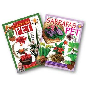 Kit 2 Revistas - Artesanato Flores Com Garrafas Pet