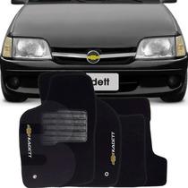 Tapete Carpete Bordado Lavável Chevrolet Kadett 5 Peças