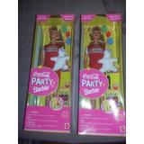 Barbie Coca Cola Party Edicion 1998 Colleccionistas