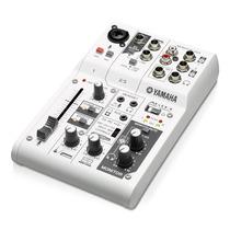 Mezcladora E Interfaz Yamaha 3 Canales Y Usb Ag03