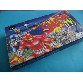 Smash Tv Original Completo Super Nintendo Famicom Snes