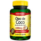 Óleo De Coco 1000mg - Maxinutri - 60 Cápsulas # Extra Virgem