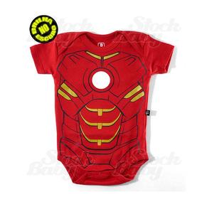 Body Homem De Ferro Ironman Vingadores Brilha No Escuro Er