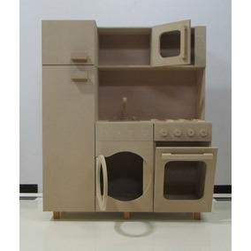 cocina de juguete hecho en madera para nios