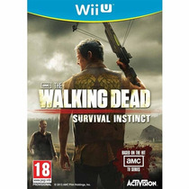 The Walking Dead: Survival Instinct Mídia Física Novo Wii U