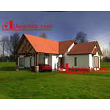 Casa Prefabricada De Campo 151 M2
