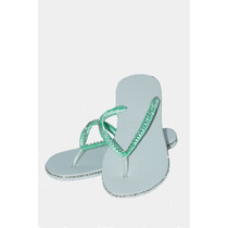 Chinelo Havaianas Customizado Com Strass Decorado Com Cetim