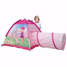 Iplay Carpa Castillo Casita Pelotero Tunel Princesa Plegable