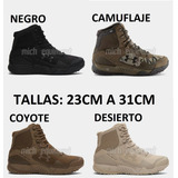Botas Tactica Under Armour Valsetz Rts Pago Efectivo-tarjeta