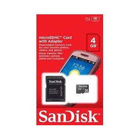 Cartão De Memoria 4gb Sandisk Micro Sd
