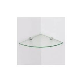 Prateleira Raque Ou Porta Shampoo De Canto De Vidro Cristal