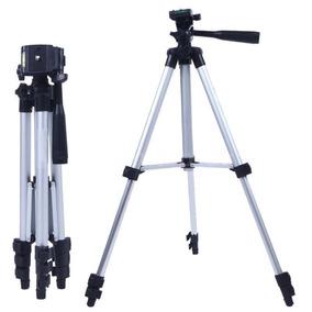 Tripé Profissional 3 Regulagens Nikon Sony Canon Filmadora