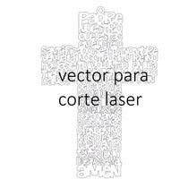 Padre Nuestro Vector Para Corte Laser