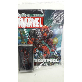 Coleção Miniaturas Marvel Eaglemoss Deadpool