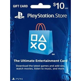 Tarjeta Playstation Store 10 Usd Psn Card Ps4 Ps3