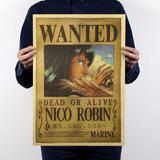 One Piece Poster Envio Gratis 51x36cm Wanted Se Busca