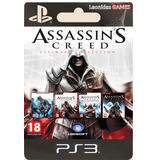 Assassins Creed Ultimate Collection Ps3 4en1 Español Lgames