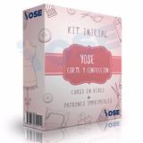 Mega Kit Corte Y Confección: Curso + Moldes X5 + Certificado