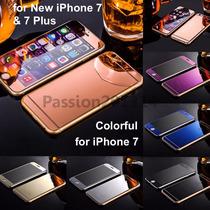 Cristal Templado Frontal Y Trasero Espejo Iphone 7