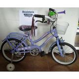 Bicicleta Rodado 14 Nena Diseño Hello Kitty, Soy Luna