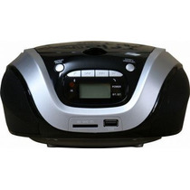 Radio Portatil Bluetooth Mini System Cd Mp3 Entrada Para Usb