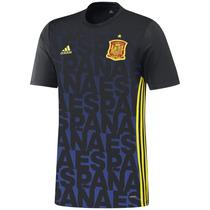 Playera Futbol Local España Pre-match Hombre Adidas Ac4561