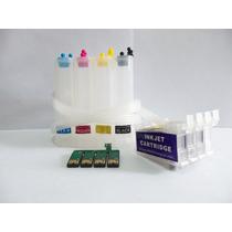 Instalacion De Sistema Continuo Epson T20 T21 Tx100 Cx5600
