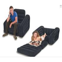 Poltrona Sofa Cadeira Colchao Puff Papai Inflável + Inflador