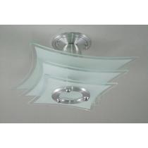Kit 2 Lustres - P/ Quarto, Sala, Cozinha Ou Banheiro 355j