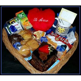 Desayuno Romantico Sorpresa Torta+corazon Enamorados Devoto