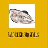 Faro Der Izq De Kia Rio Stylus 2008 Al 2012