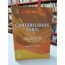 Livro Contabilidade Geral Série Questões Ed Luiz Ferrari